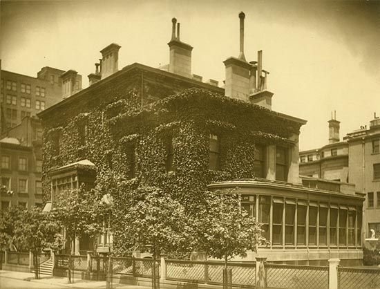 El 219 de Madison Square hogar de Giovanna a principios del S.XX