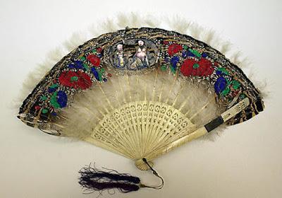 Abanico. Siglo XIX. Metropolitan Museum, Nueva York