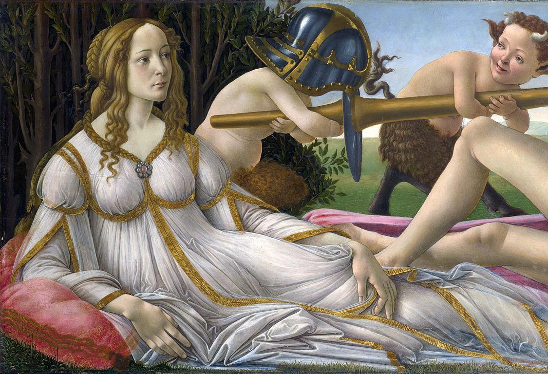 Historia de la Venus de Boticelli y su broche - Venus y Marte - Joyas Historicas en Vintage By Lopez-Linares