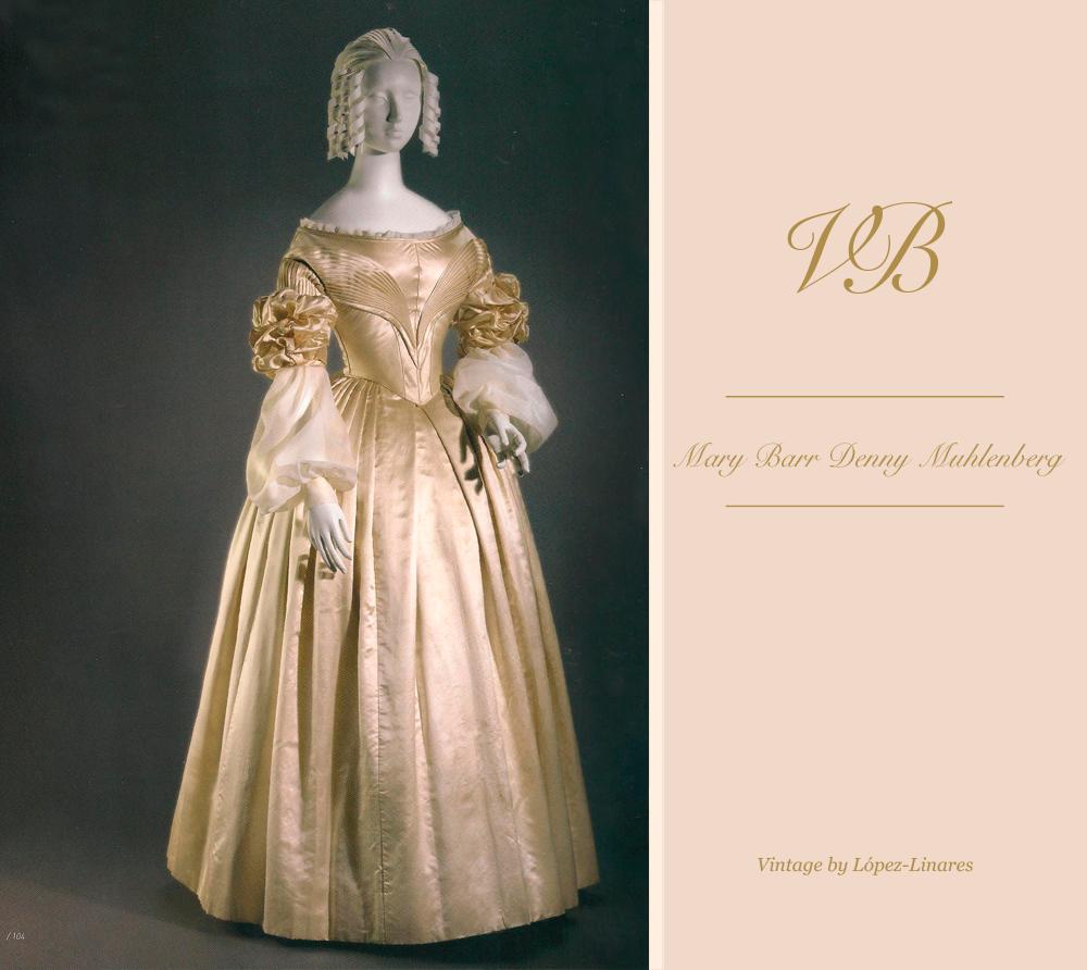 Vestido de novia de Mary Muhlenberg tras el retoque Vintage By López Linares