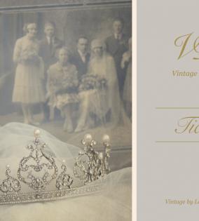 tiara-vintage dictionay-vintage by lopez linares