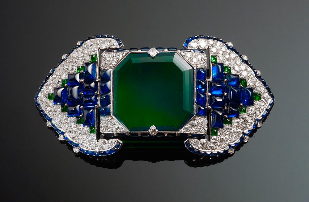 2015 Diciembre - Joyería India - broche de Cartier inspirado en la joyeria india