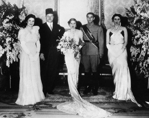 el collar de diamantes de la reina Nazli de van cleef & arpels- vintage by lopez linares