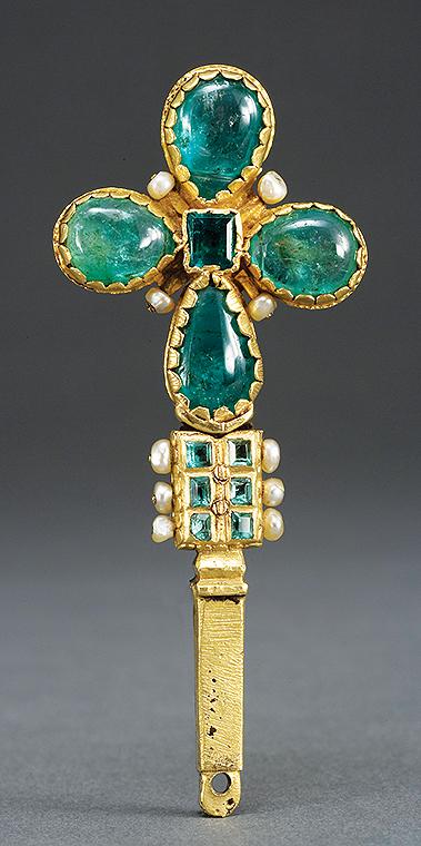 2016 - mayo - Cruz santa - Colombia or Ecuador, 1600 - Oro, esmeraldas y perlas