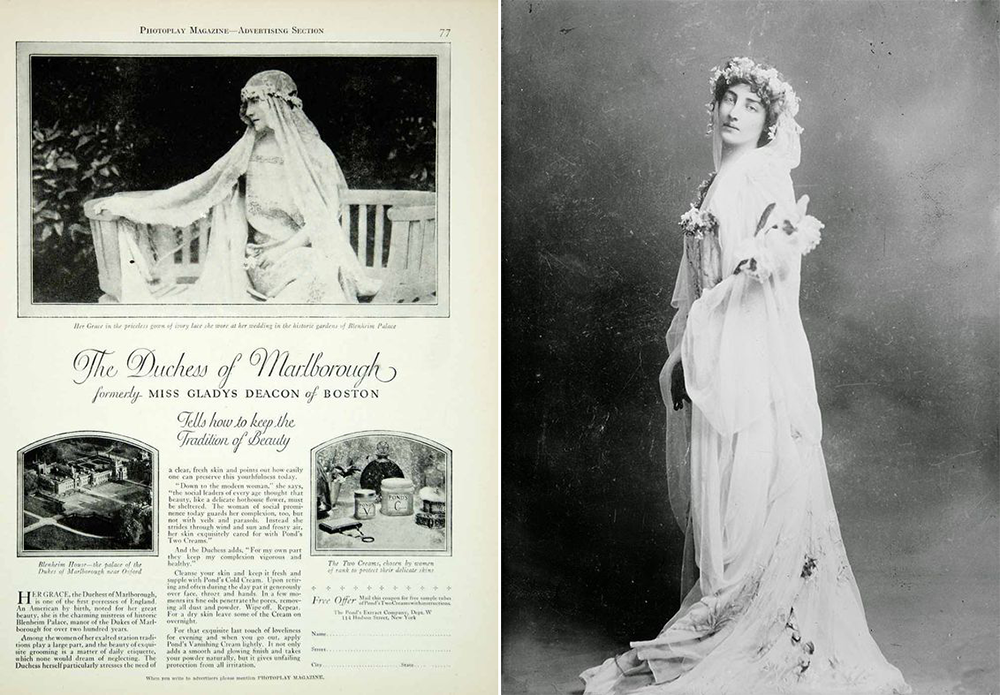 gladys duchess of marlborough-vintage by lopez linares