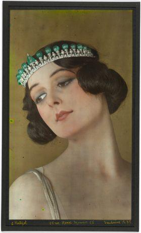 Exposicion Elegancia y Esplendor del Art Deco - Tiara de Cartier
