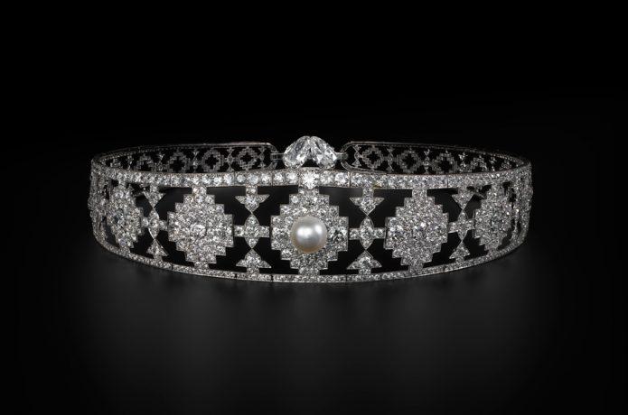 Exposicion Elegancia y Esplendor del Art Deco - Tiara de Cartier - Nueva York - 1924 (1)
