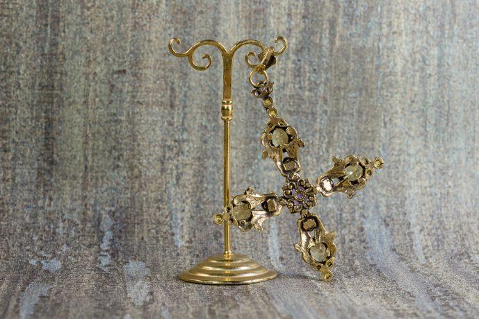 colgante-vintage-plata-dorada-cruz-adoracion de los reyes magos (4)