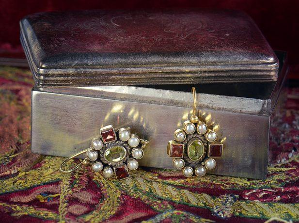 pendientes philomena-vintage by lopez linaresp
