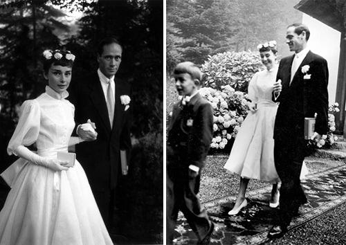 las bodas de audrey hepburn - vintagelópez linaresvintage